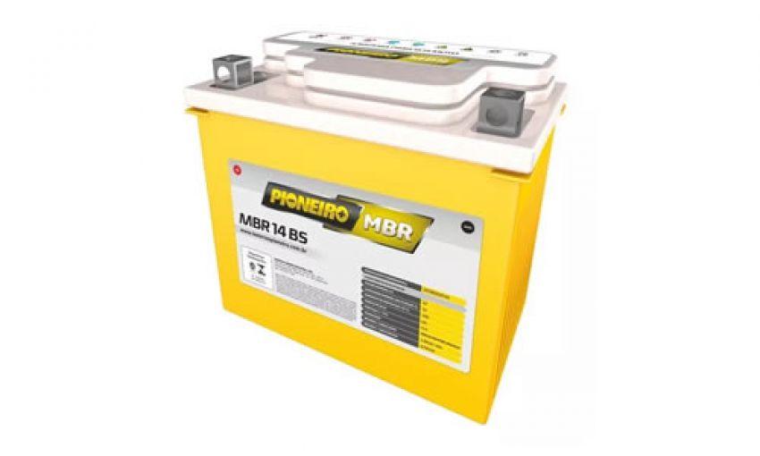Bateria Agm Pioneiro Mbr14-bs
