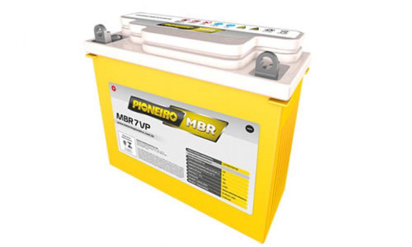 Bateria Agm Pioneiro Mbr 7-vp