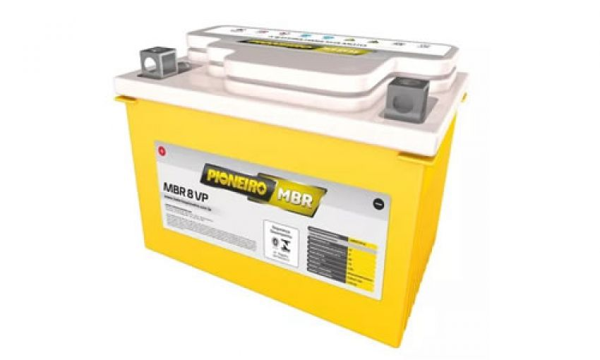 Bateria Agm Pioneiro Mbr 8-vp