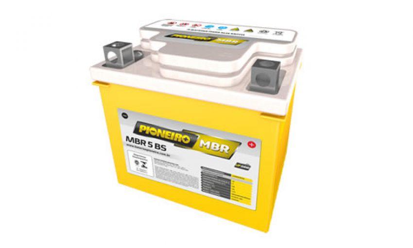 Bateria Moto Pioneiro Mbr 5bs